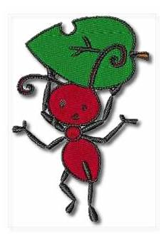 Ant Embroidery Design Worker Ant Machine Embroidery Designs