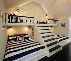 great idea for a lodge cabin home bunk beds with