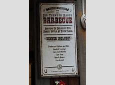 Big Thunder Ranch Barbecue Frontierland Disneyland Park