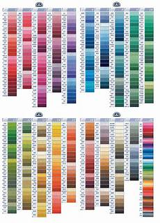 Dmc Chart Dmc Embroidery Threads Cross Stitch Embroidery Quilting