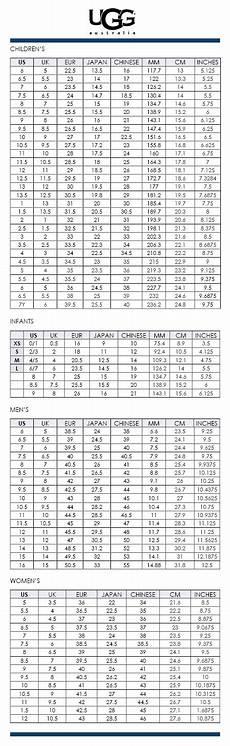 Ugg Robe Size Chart Size Chart