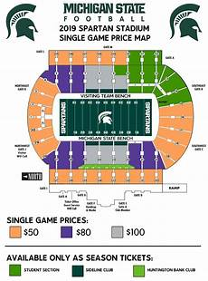 Ud Football Stadium Seating Chart Spartan Stadium Seating Chart