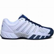 Light Tennis Shoes K Swiss Mens Bigshot Light 2 5 Tennis Shoes White Blue