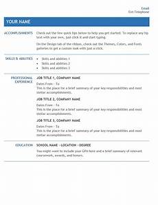 Resume Template For Internal Promotion Resume For Internal Company Transfer