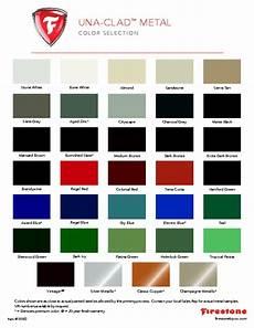 Firestone Sheet Metal Color Chart Firestone Color Chart Sheet Metal Supply