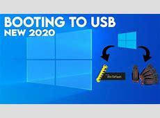 Cara Mambuat Boot Windows 10 USB Flashdisk Update 2020