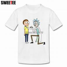 rick and morty baby clothes guys rick and morty children s t shirt toddler cotton o neck