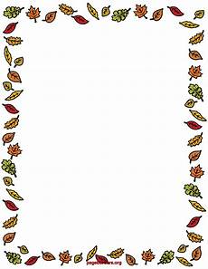 Free Fall Borders For Word Fall Page Borders Clipart Panda Free Clipart Images