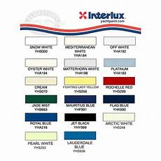 Interlux Color Chart Paint Color Number To Match 1975 Off White Gel Coat