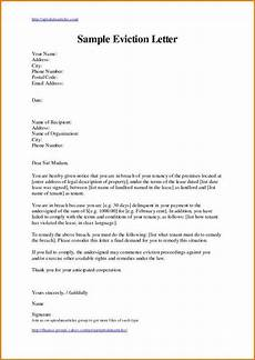 Example Letter Eviction Letter Template Lettering Letter Templates