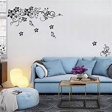 decorazioni murali da letto 1pcs adesivi murali fiori fioriture loto parete plum