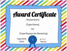 Free Certificate Template For Kids Free Custom Certificates For Kids Customize Online