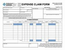 Employee Expenses Claim Form Template 4 Expense Claim Form Templates Excel Xlts
