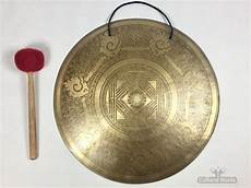 Gong Design 20 Quot Root Chakra Beautiful Nepalese Lotus Flower Carved