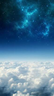 cosmos wallpaper 4k iphone cosmos above white clouds iphone 5 wallpaper hd free