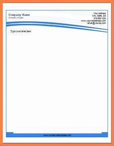 Ms Office Letterhead Template 8 Letterhead Template Word 2007 Company Letterhead