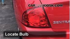 2004 Nissan Sentra Brake Lights Not Working Brake Light Change 2000 2006 Nissan Sentra 2002 Nissan