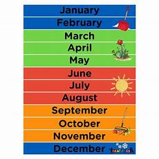Printable Month Free Printable Months Of The Year Calendar Neatlings