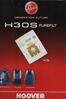 sacchetti hoover sacchetti sensory telios arianne h30s hoover