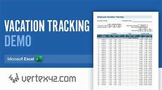 Vacation Tracking Spreadsheet How To Use The Vacation Tracking Spreadsheet Youtube
