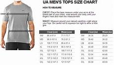 Under Armour Sizing Chart Mens Punisher Under Armour Men S Alter Ego Fit T