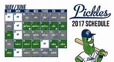2018 Pickle Chart Official Website Of Portland Pickles Baseball News