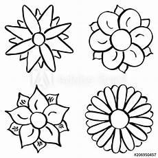 Blumen Malvorlagen Xl Quot Blumen Zum Ausmalen Quot Stock Image And Royalty Free
