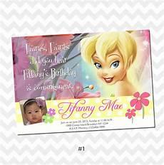 Tinkerbell Invitation Tinkerbell Invitation Card Birthday On Storenvy