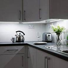 Lancashire Furniture White Cupboard With Led Lights And White by 4 X 30cm In Led Kitchen Cupboard Cabinet
