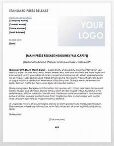 Format For Press Release Free Press Release Templates Smartsheet