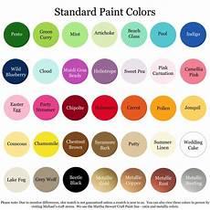 Martha Stewart Craft Paint Color Chart 1000 Images About Martha Stewart Paint On Pinterest