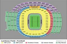 Green Bay Packers Seating Chart Sept 26 Eagles At Packers 2 Night