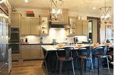 black kitchen islands gray kitchen cabinets with black island