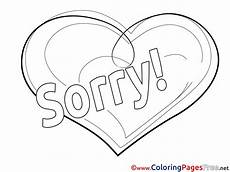 Apology Coloring Pages Sorry Coloring Pages Sketch Coloring Page