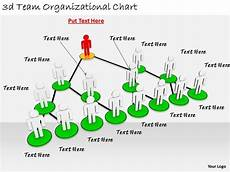 3d Organizational Chart 2513 3d Team Organizational Chart Ppt Graphics Icons