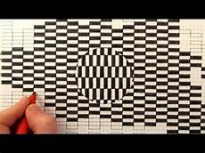 Graph Paper Art Step By Step See How To Draw A Moving Optical Illusion The Ouchi