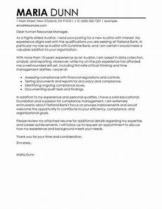 Night Auditor Cover Letter Leading Professional Auditor Cover Letter Examples