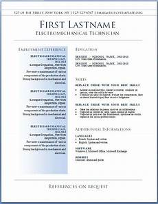 Resume Formats Free Resumes The Best Resume Template Free Sample And Job