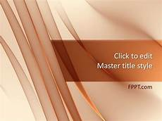 Backgrounds For Power Point Free Waves Powerpoint Template Free Powerpoint Templates
