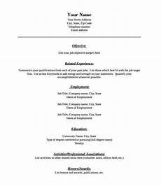 Resume Templates Pdf Format 46 Blank Resume Templates Doc Pdf Free Amp Premium