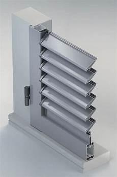 meccanismi per persiane orientabili scuri in alluminio sistema persiana ad anta con lamelle