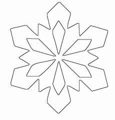 Sterne Malvorlagen Kostenlos Simple Snowflake Patterns Ausmalbild Schneeflocken Und