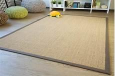 fibra uno tappeti tappeto sisal brazil orli tappeto cinque colori e orli in
