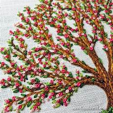 embroidery tree the three stitch bloomin tree needlenthread