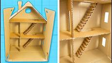 how to make a cardboard house with rooms part 1 6