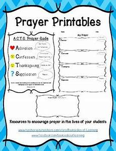 Prayer Template Prayer Printables Includes Acts Prayer Guide Writing