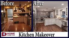kitchen remodel before after white kitchen design