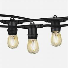 Brightech Lights Ambience Pro Outdoor String Lights Led Waterproof Edison
