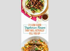 21 Filling Low Carb Recipes With No Meat   Vegetarian
