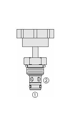 Nv08 21 Hydraulic Cartridge Needle Valve